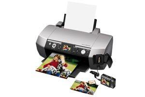 Epson Stylus Photo R340 Ink Jet Printer