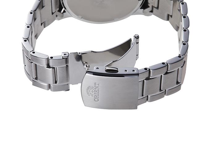 ORIENT: Kwarcowy Sportowy Zegarki, Metalowy Pasek - 42.0mm (RA-KV0004R)