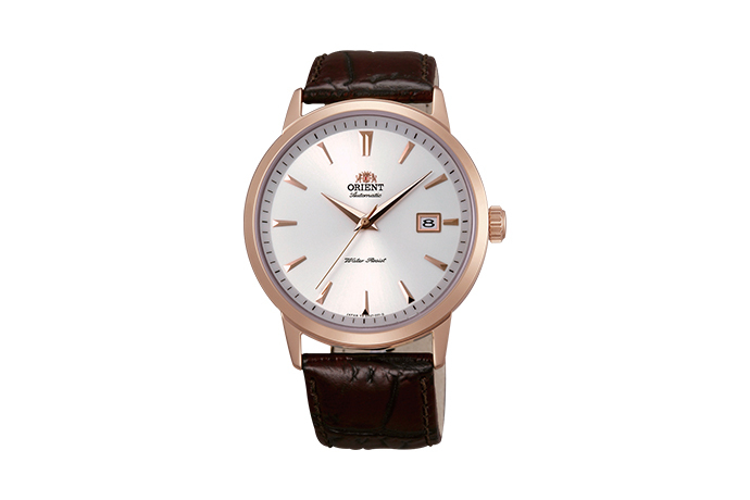 ORIENT: Mechanical Contemporary Watch, Leather Strap - 41.0mm (ER27003W)