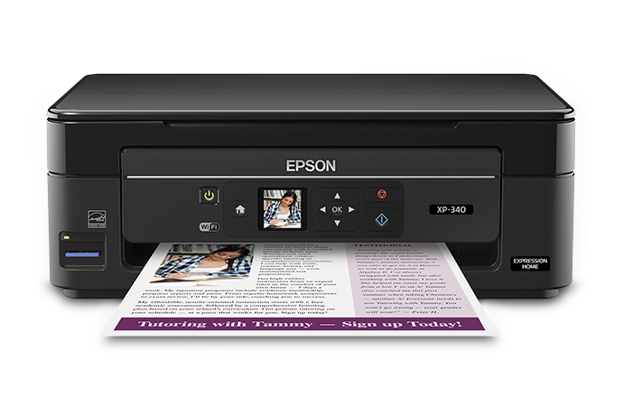 Epson Expression Home XP-340 Small-in-One All-in-One ...