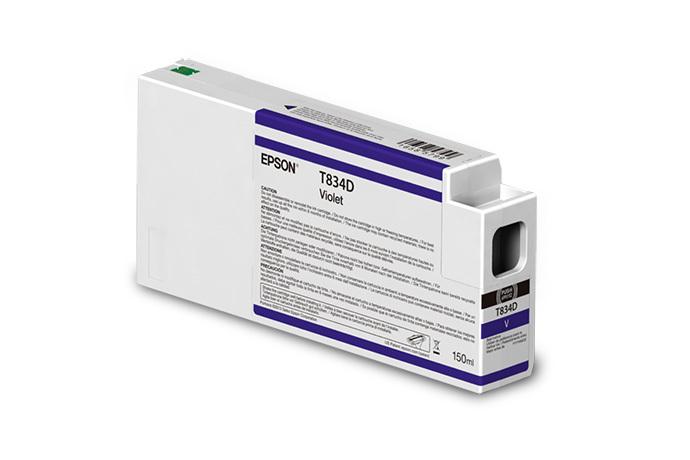 Epson 834, Violet Ink Cartridge, 150 ML