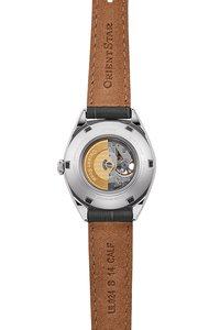 ORIENT STAR: Mechanische Modern Uhr, Kalb Band - 30.0mm (RE-ND0103N)