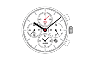 Center Chronograph  YM64