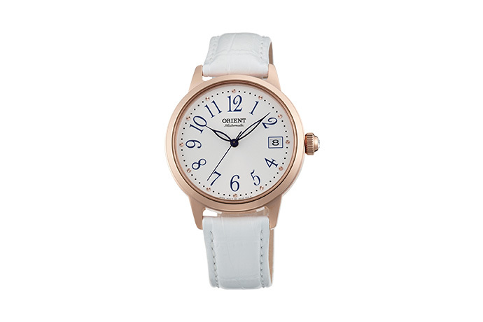 ORIENT: Mechanical Contemporary Watch, Leather Strap - 35.5mm (AC06002W)
