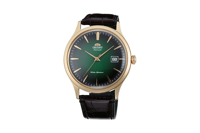 ORIENT: Mechanical Classic Watch, Leather Strap - 42.0mm (AC08002F)