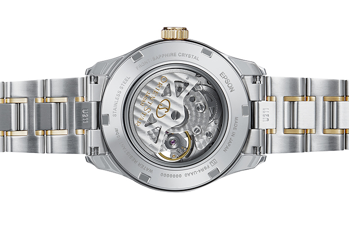 ORIENT STAR: Mechanical Contemporary Watch, Metal Strap - 39.3mm (RE-AT0004S)