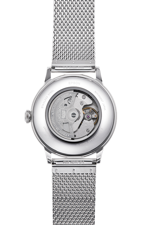 ORIENT: Mechanical Classic Watch, Metal Strap - 40.5mm (RA-AC0020G)