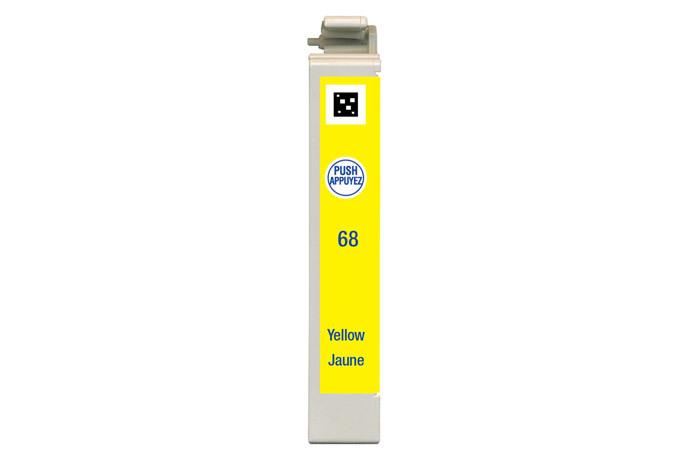 Epson 68, Yellow Ink Cartridge, High Capacity
