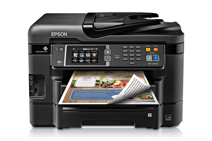 Epson workforce wf 3640 all in one printer inkjet printers for epson workforce wf 3640 all in one printer m4hsunfo