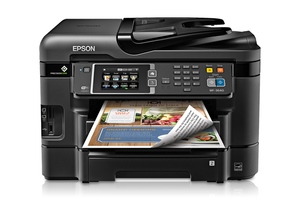 Epson Workforce Wf 3640 All In One Printer Inkjet
