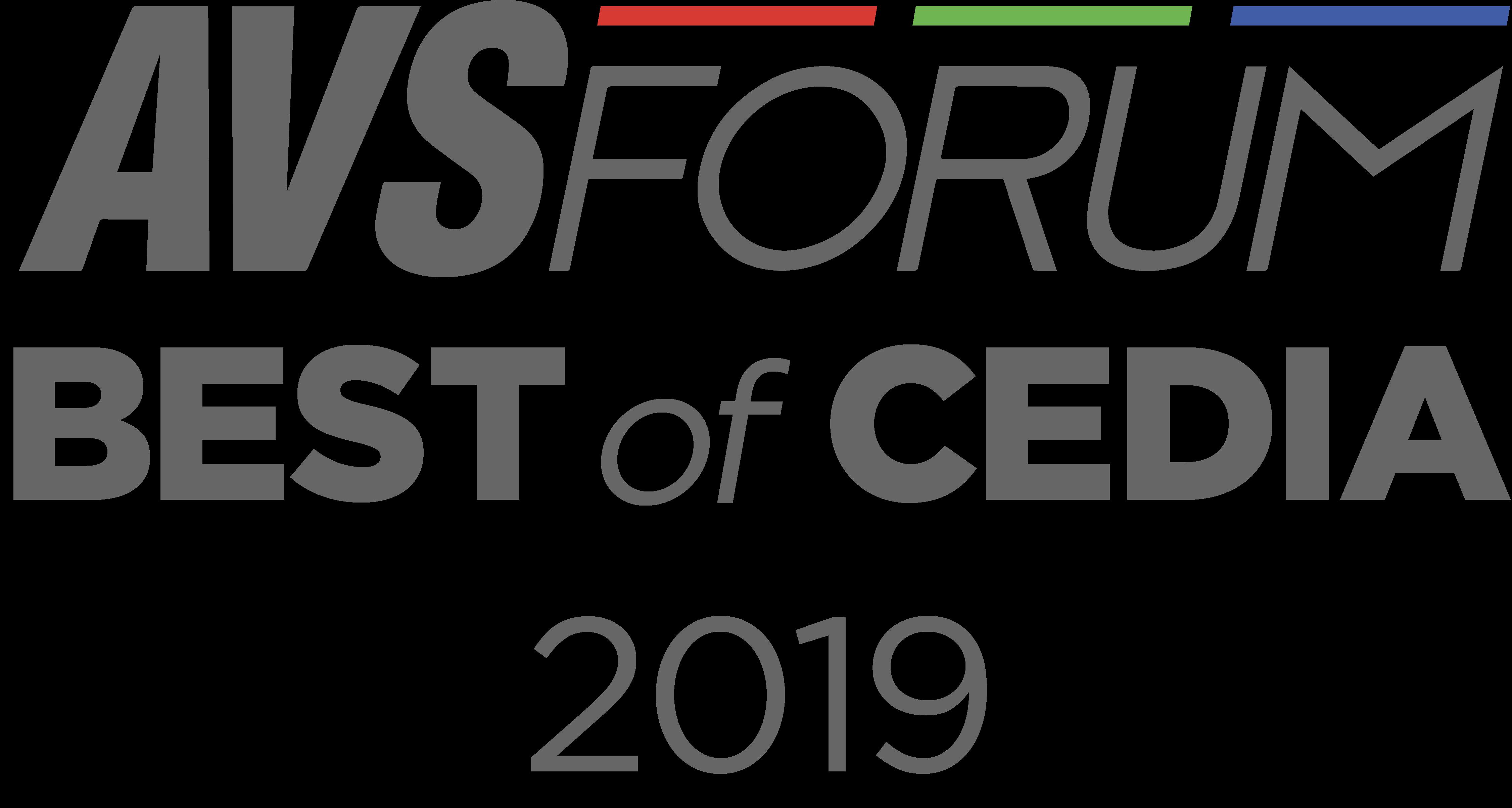 AVS Forum Best of CEDIA 2019