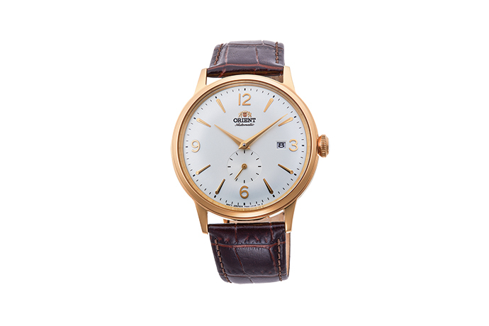 ORIENT: Mechanical Classic Watch, Leather Strap - 40.5mm (RA-AP0004S)