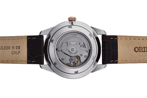 ORIENT: Mechanical Contemporary Watch, Leather Strap - 40.8mm (RA-AX0006S)