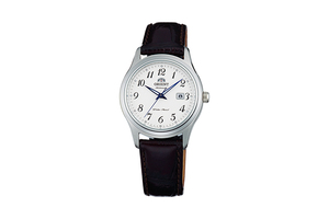 ORIENT: Mechanical Contemporary Watch, Leather Strap - 31.0mm (NR1Q00BW)