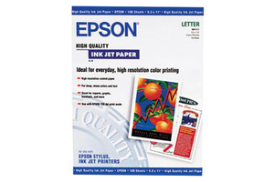 """High Quality Ink Jet Paper, 8.3"""" x 11.7"""", 100 sheets"""