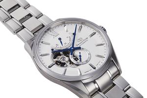 ORIENT STAR: Mechanisch Klassisch Uhr, Leder Band - 38.5mm (AF02001S)