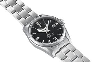 ORIENT STAR: Mechanical Contemporary Watch, Metal Strap - 38.5mm (RE-AU0004B)