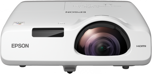 Epson 535W Short Throw WXGA 3LCD Projector