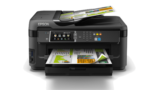 Epson WorkForce WF-7611 A3 Wi-Fi Duplex All-in-One Inkjet Printer