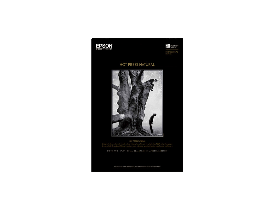 Fine art photo paper epson us hot press natural reheart Images