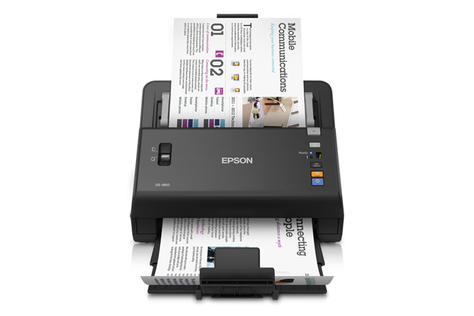 Epson WorkForce DS-860 Colour Document Scanner - Refurbished