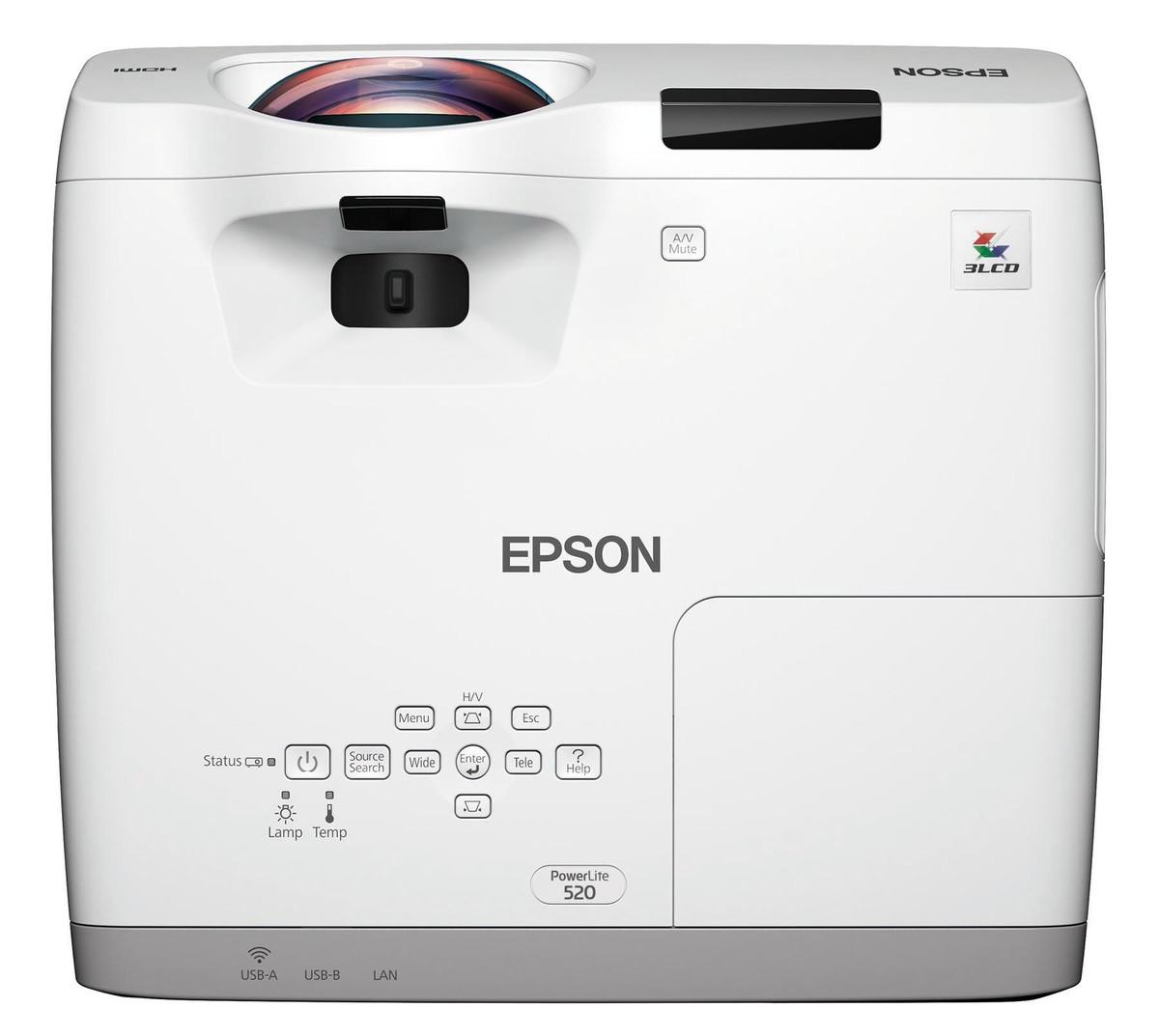 Epson EB-520 Short Throw XGA 3LCD Projector