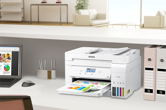 EcoTank ET-4760 All-in-One Cartridge-Free Supertank Printer