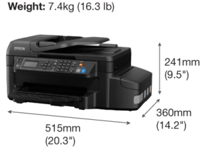 EcoTank L655 Multifunction InkTank Printer