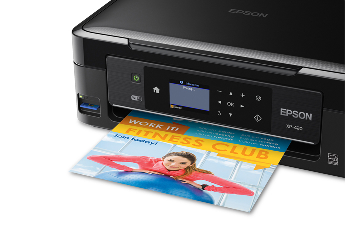 Epson Expression Home XP-420 Small-in-One All-in-One Printer