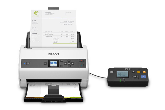 Epson DS-870 Color Duplex Workgroup Document Scanner