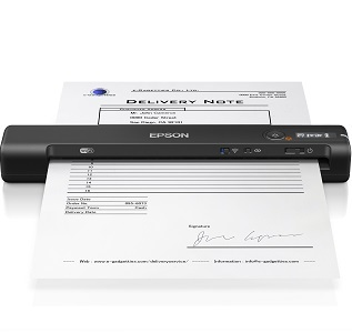 WorkForce ES-60W WiFi Portable Document Scanner