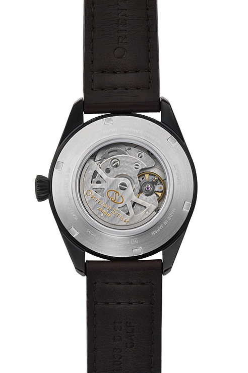 ORIENT STAR: Mechanical Sports Watch, Leather Strap - 41.0mm (RE-AU0201E)