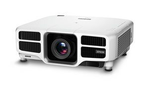 Pro L1490U WUXGA 3LCD Laser Projector with 4K Enhancement and Lens