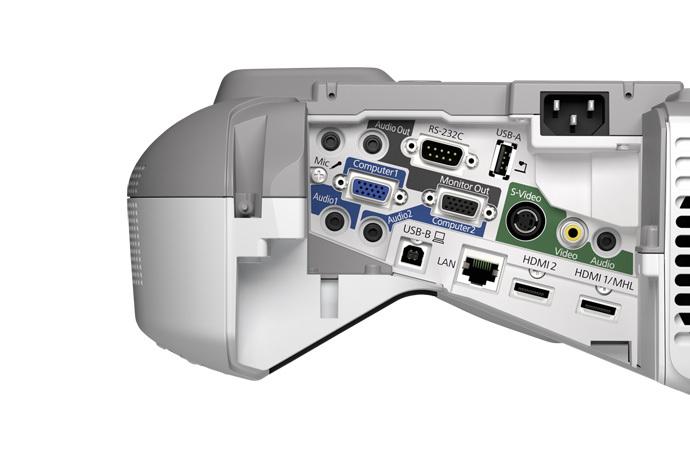 PowerLite 585W WXGA 3LCD Projector for SMART