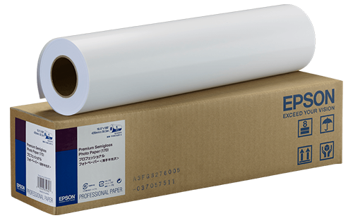 Epson Premium Semigloss Photo Paper (170) - 16.5 in x 30m 1 Roll