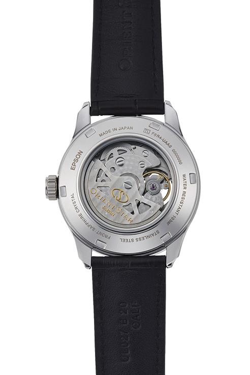 Orient Star: Mecánico Clásico Reloj, Piel de cocodrilo Correa - 39.0mm (DX02002S)