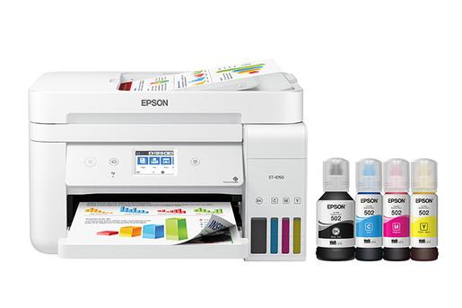 EcoTank ET-4760 All-in-One Printer - White