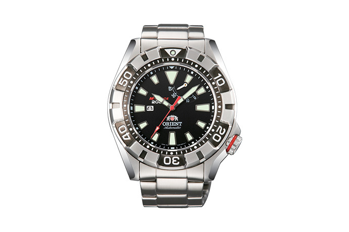 ORIENT: Mechanical Sports Watch, Metal Strap - 46.0mm (EL03001B)