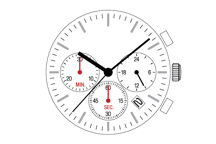 MUSCLE MOVEMENT  Chronograph  VR32