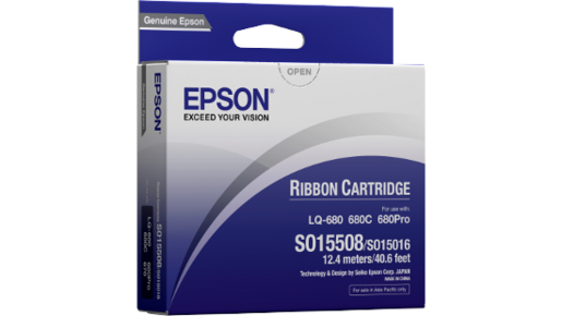 Ribbon Cartridge Black