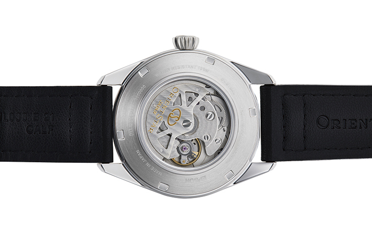 ORIENT STAR: Mechanical Sports Watch, Leather Strap - 41.0mm (RE-AU0203B)