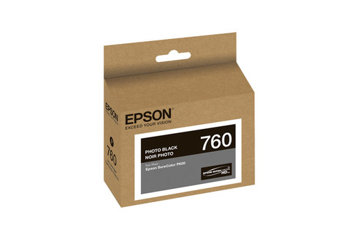 Epson 760, Photo Black Ink Cartridge