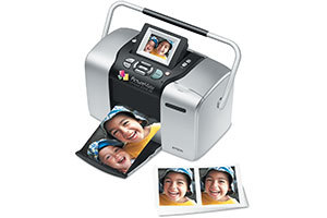 Epson PictureMate Deluxe Viewer Edition Compact Photo Printer