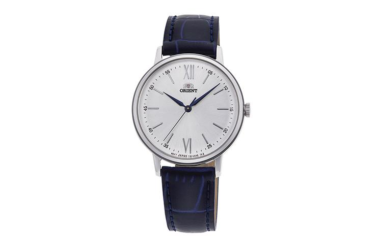 ORIENT: Cuarzo Clásico Reloj, Cuero Correa - 34.8mm (RA-KA0006S)