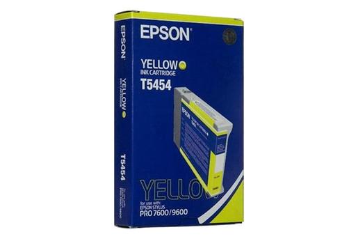 Epson T545, 110 ml Yellow Photographic Dye Ink Cartridge