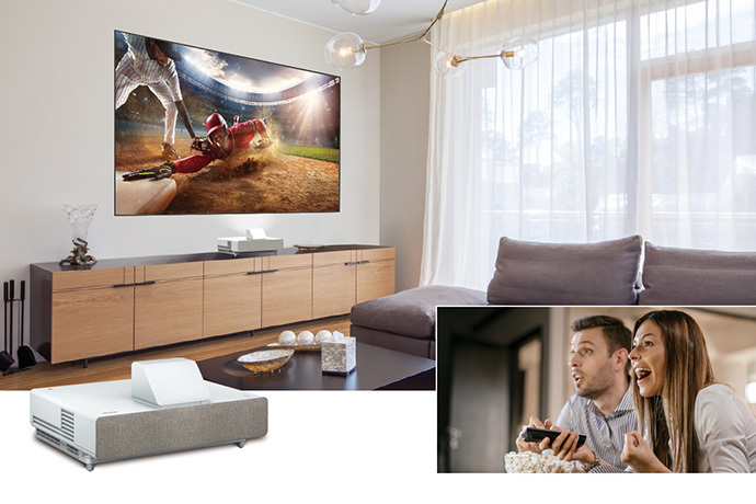 "100"" EpiqVision Ultra LS500 4K PRO-UHD Laser Projection TV"