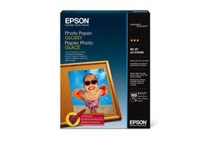 """Photo Paper Glossy, 8.5"""" x 11"""", 100 sheets"""