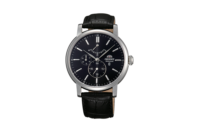 ORIENT: Mechanical Classic Watch, Leather Strap - 41.0mm (EZ09003B)