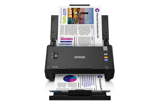 WorkForce DS-520 Color Document Scanner - Refurbished