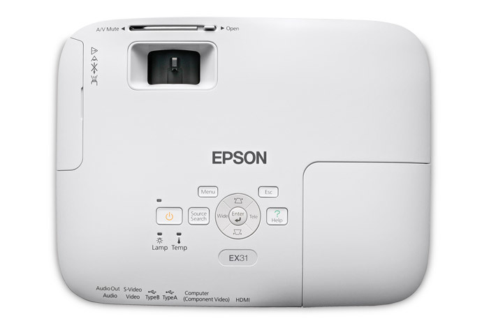 ex31 multimedia projector projectors for work clearance center rh epson com Epson EX31 Bulb Replacement Epson EX71 Projector Lamp
